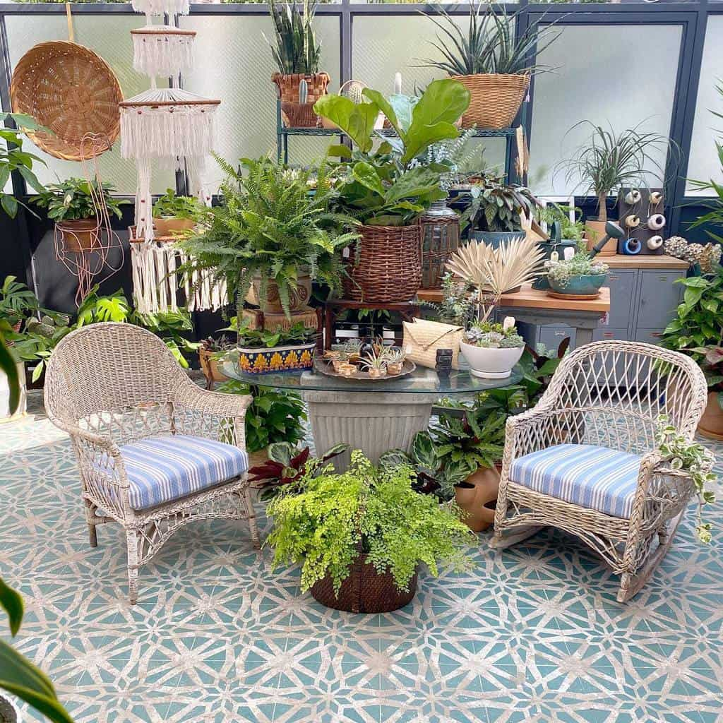 Plants Patio Garden Ideas -venicevintageparadise