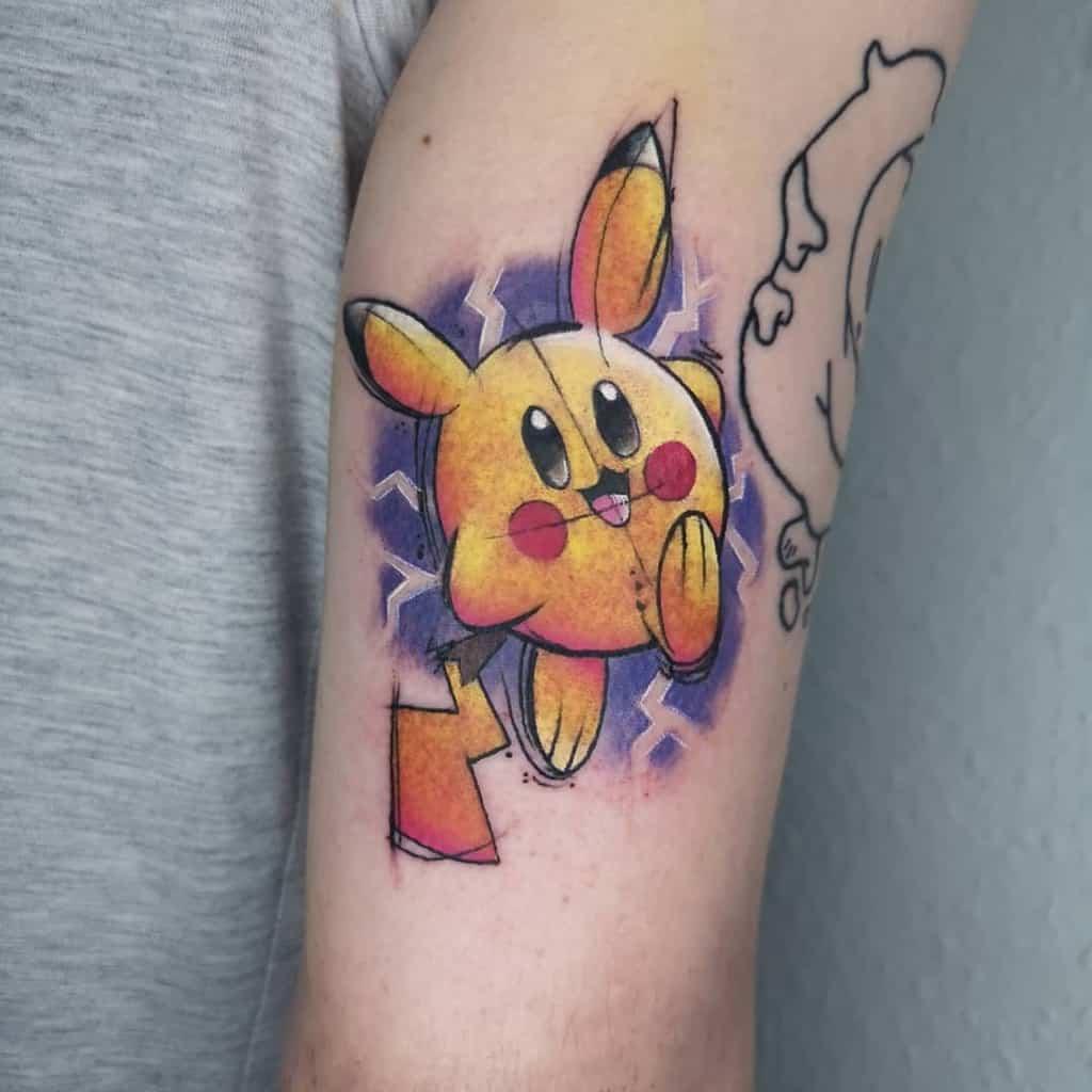 Pokemon Kirby Tattoos Sareushtattoos