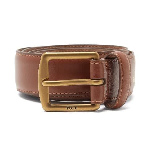 Polo Ralph Lauren Foiled-leather Belt