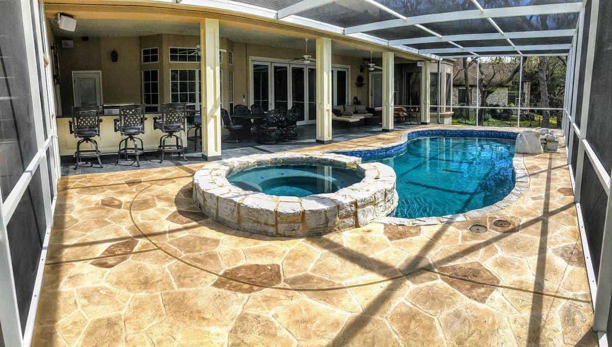Pool Patio Enclosure Ideas -sundek.nashville