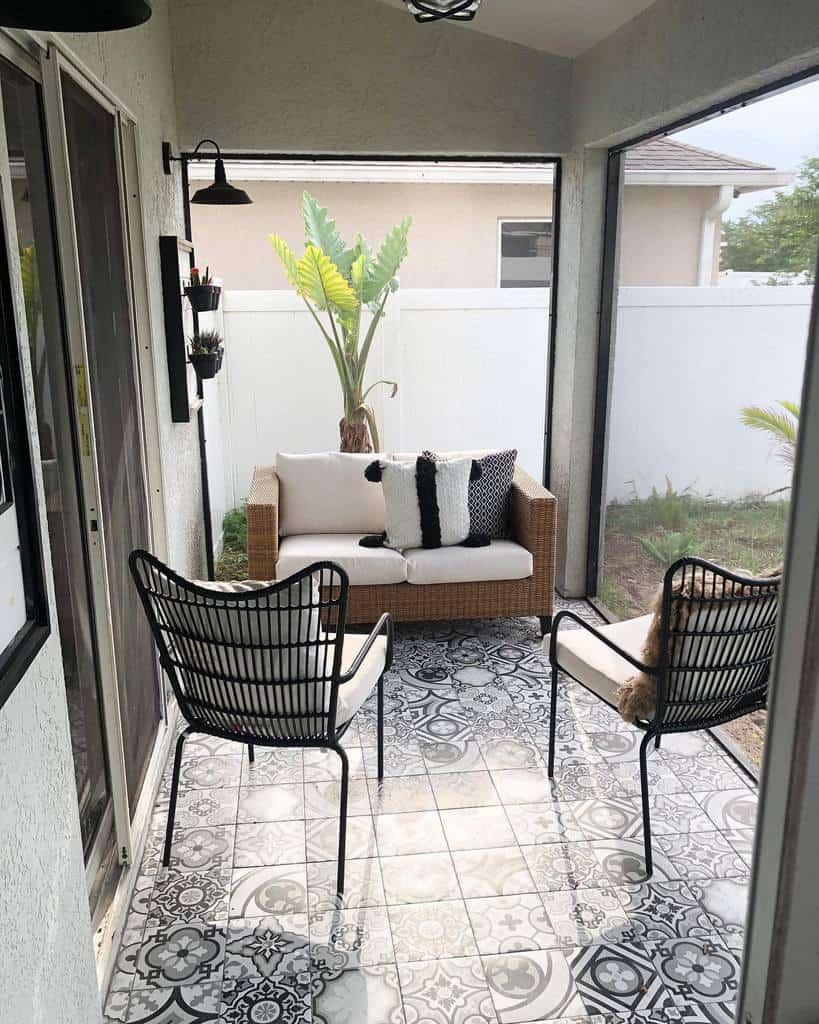 Porch Deck Decorating Ideas -my_florida_farmhouse_