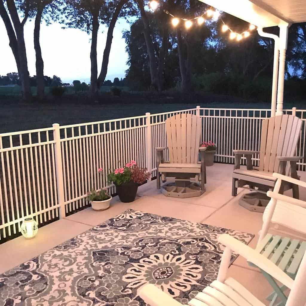 Porch Deck Privacy Ideas -houseonwren