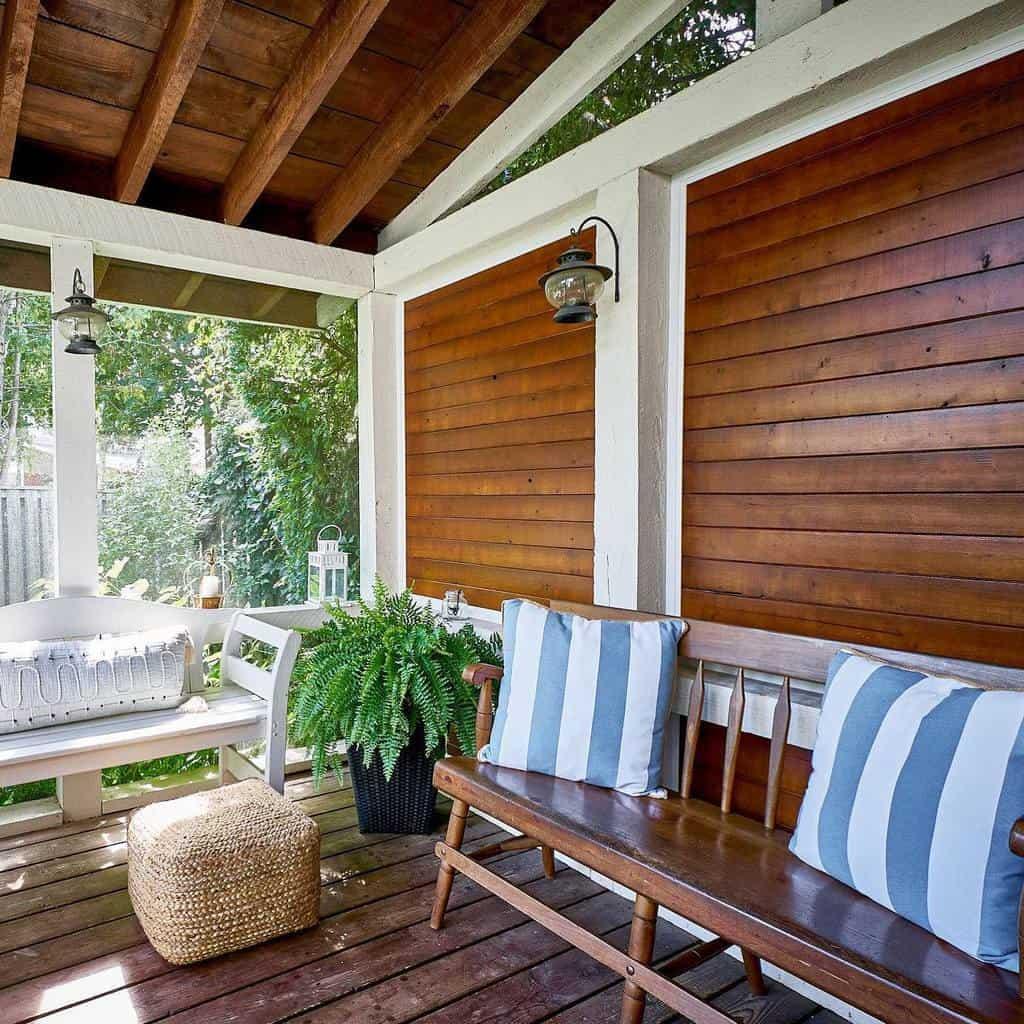 Porch Deck Privacy Ideas -thatsparky_brods