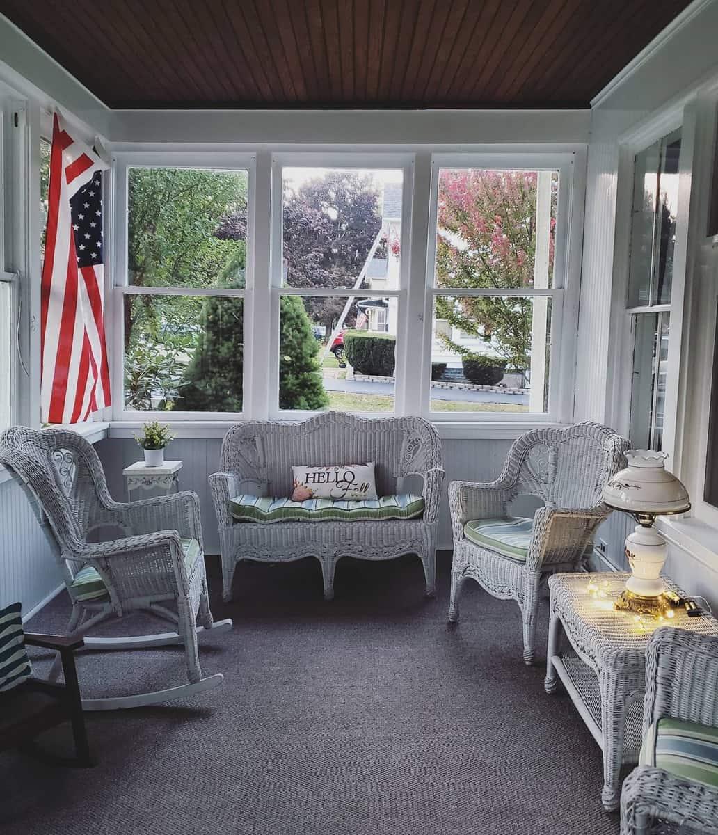 Porch Patio Enclosure Ideas -emilyckinney