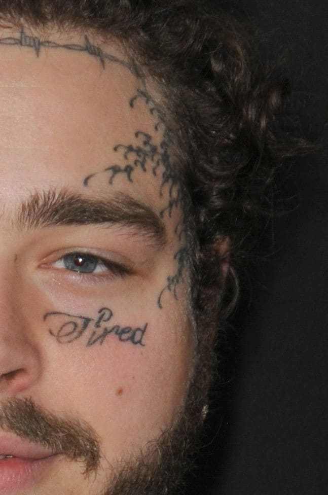 Post Malone Left Hand Side