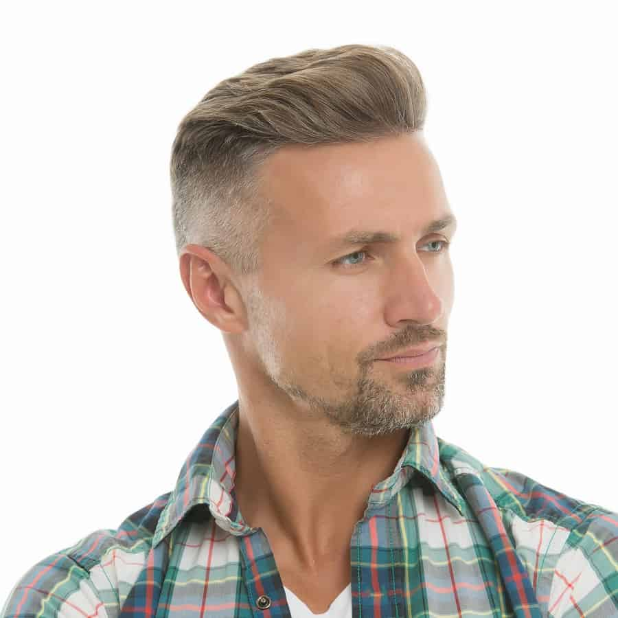 Precision Fade Haircut For Older Guys