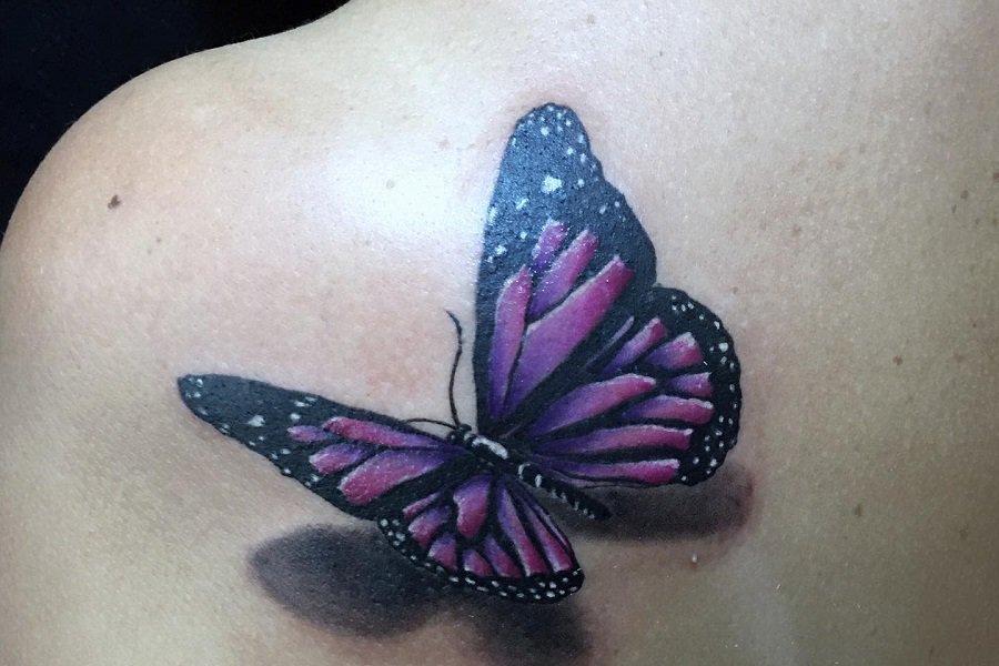 Top 70+ Best 3D Butterfly Tattoos Ideas – [2021 Inspiration Guide]