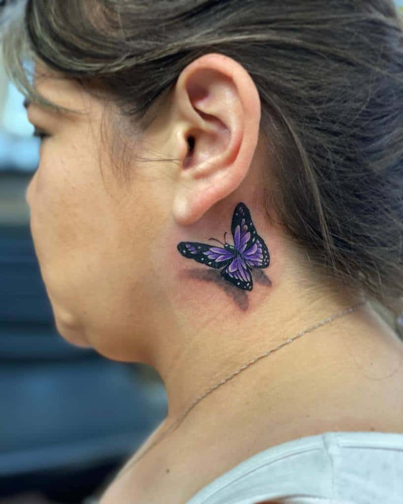 Purple Monarch Butterfly Tattoo tatts_by_ant