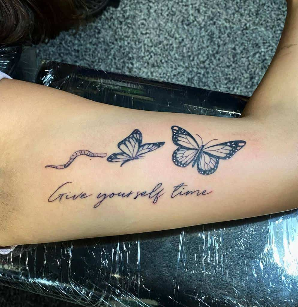 Qoute Butterfly Tattoo Meaning davidtatts85