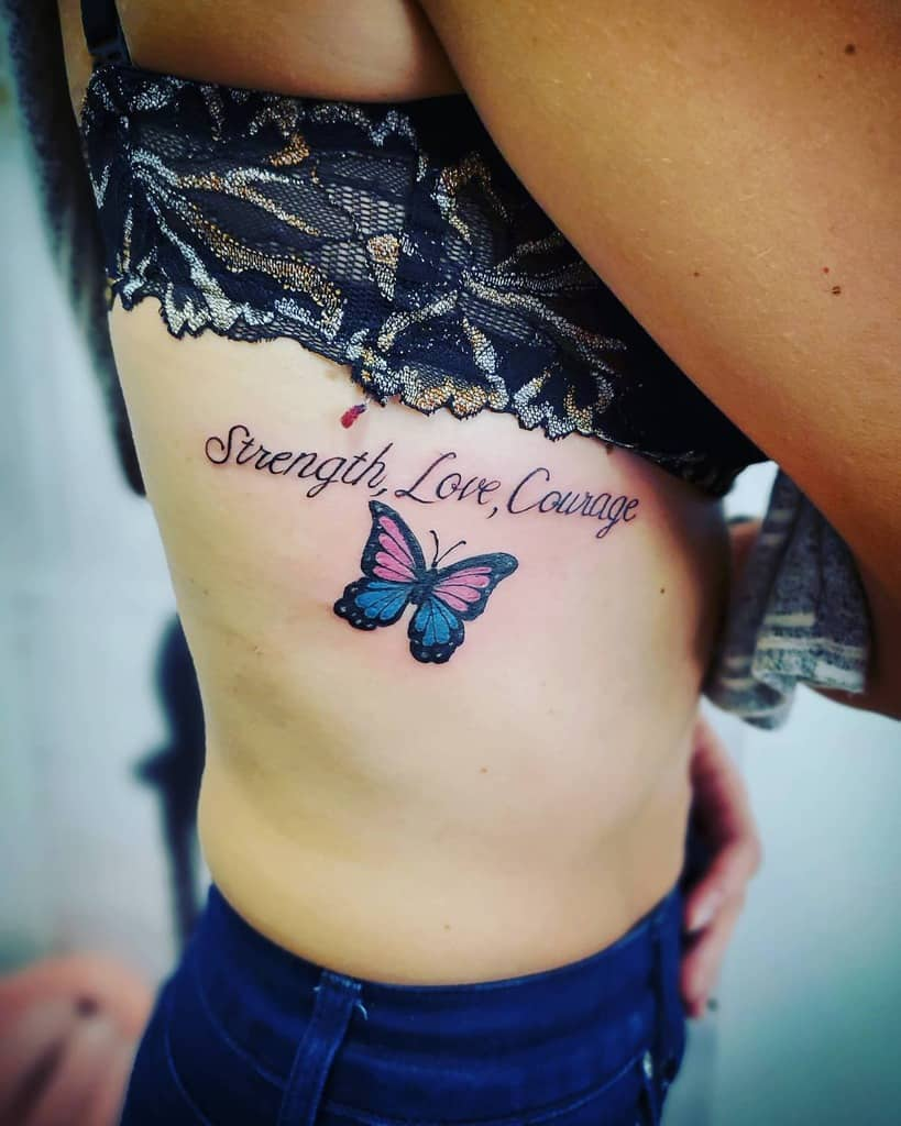 Qoute Butterfly Tattoo Meaning josmoontattoo