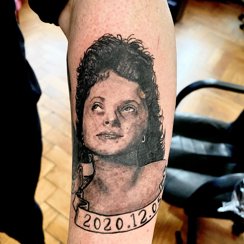 Memorial RIP Tattoo Ideas -lichdesign