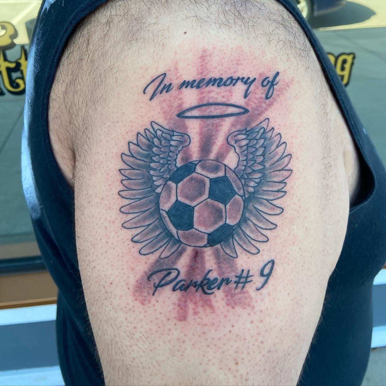 Memorial RIP Tattoo Ideas -stagelefttattoo