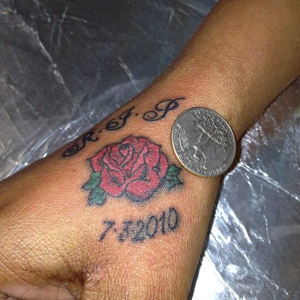 Rose RIP Tattoo Ideas -pete_lefty