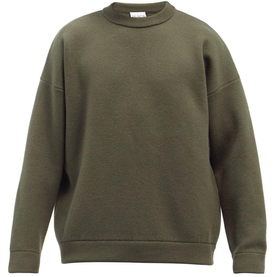 Raey Crewneck Wool-Blend Sweater