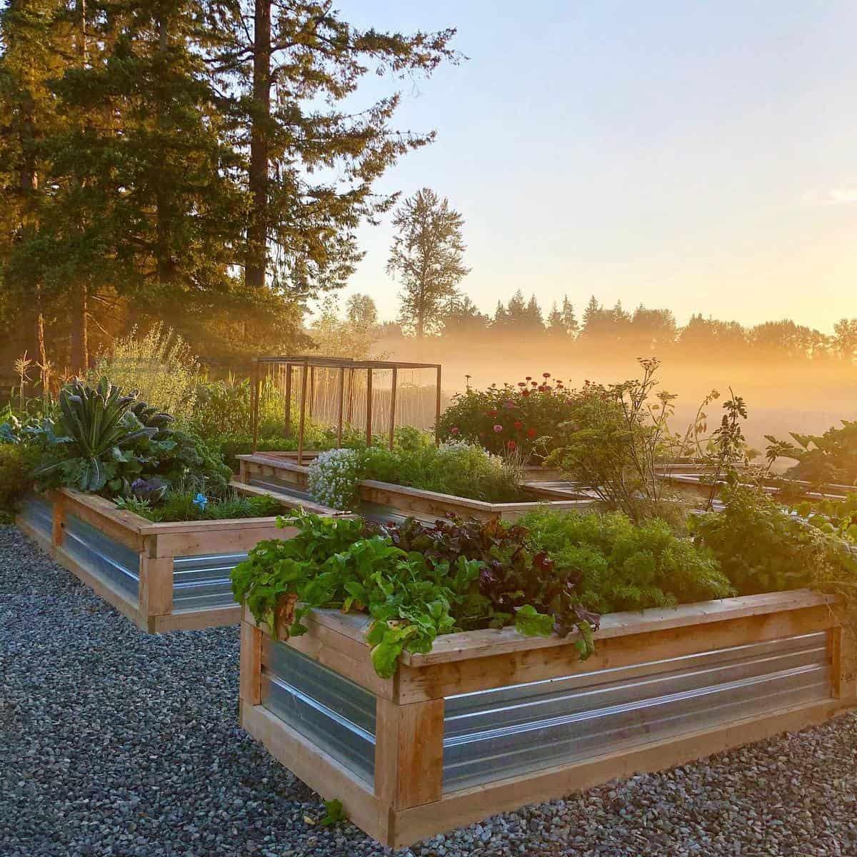 Raised Garden Grass Free Yard Ideas -five.acre.creek