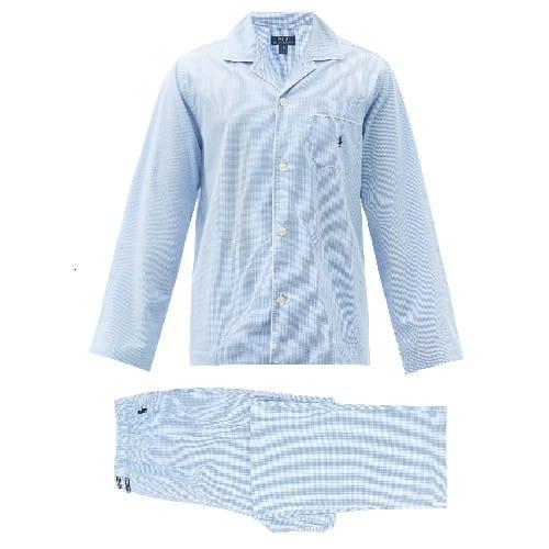 Ralph-Lauren-Gingham-Cotton-Pajamas