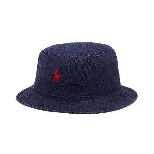 Ralph Lauren Logo Bucket Hat