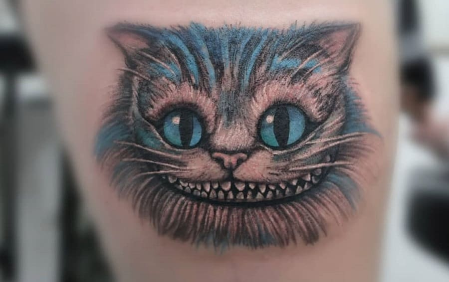 Top 71+ Best Cheshire Cat Tattoo Ideas – [2021 Inspiration Guide]