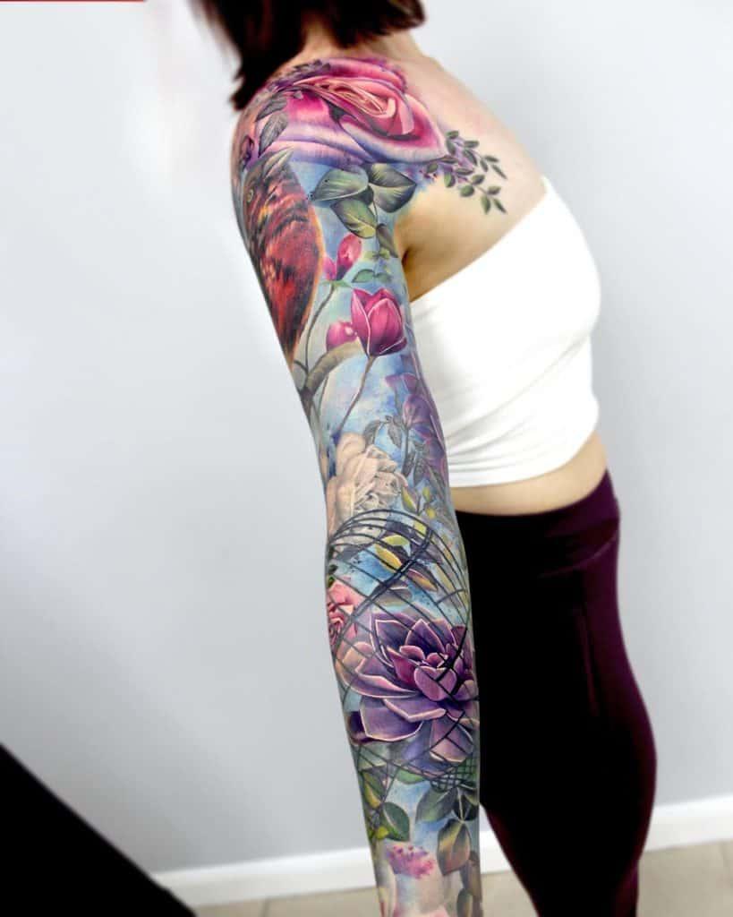 Realistic-Flower-Tattoo-Sleeve-liannemoule-1229×1536