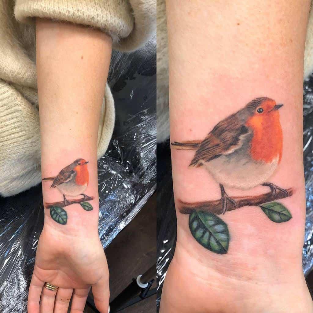 Realistic Robin Tattoo Jasonparry Tattooartist