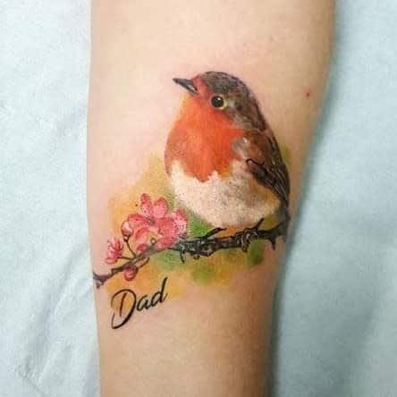 Realistic Robin Tattoo Revivaltattoostudio