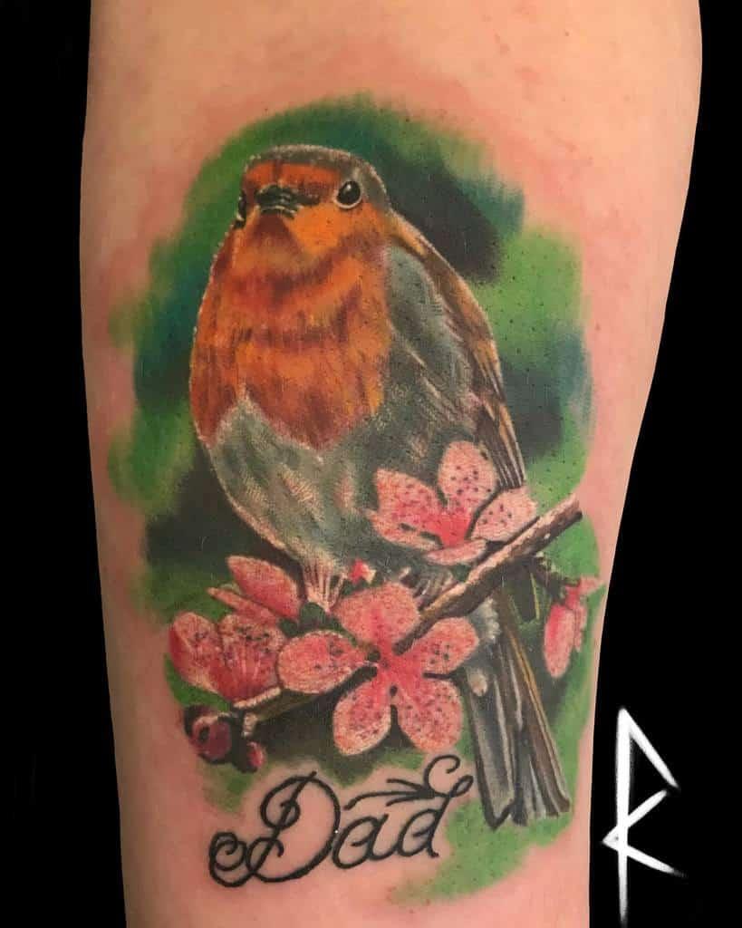 Realistic Robin Tattoo Theunknowntattooist