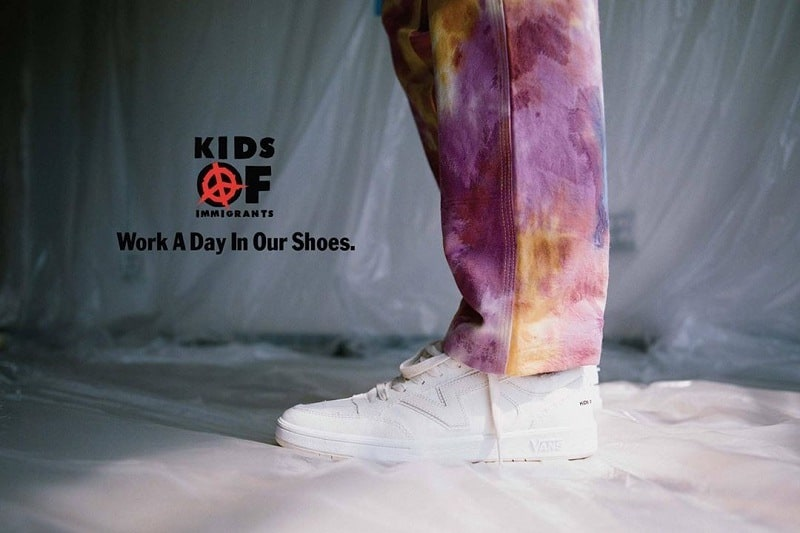 Recognize Different Cuts of Fabric With Vans x Kids Of Immigrants 1