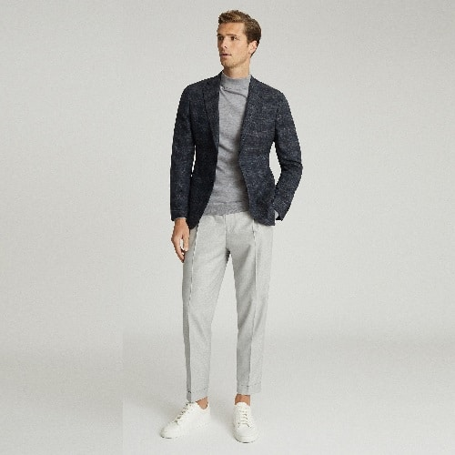 Reiss-Chay-Checked-Slim-Fit-Blazer