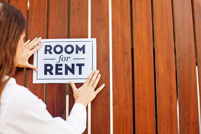 Rent out your place.