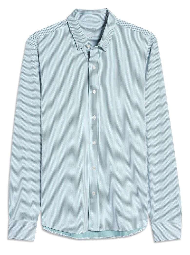 Rhone Commuter Pinstripe Button Up Shirt