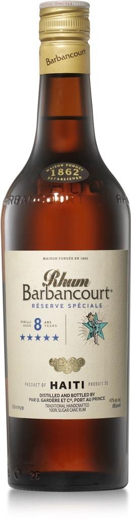 Rhum Barbancourt 5 Sterne 8 Jahre