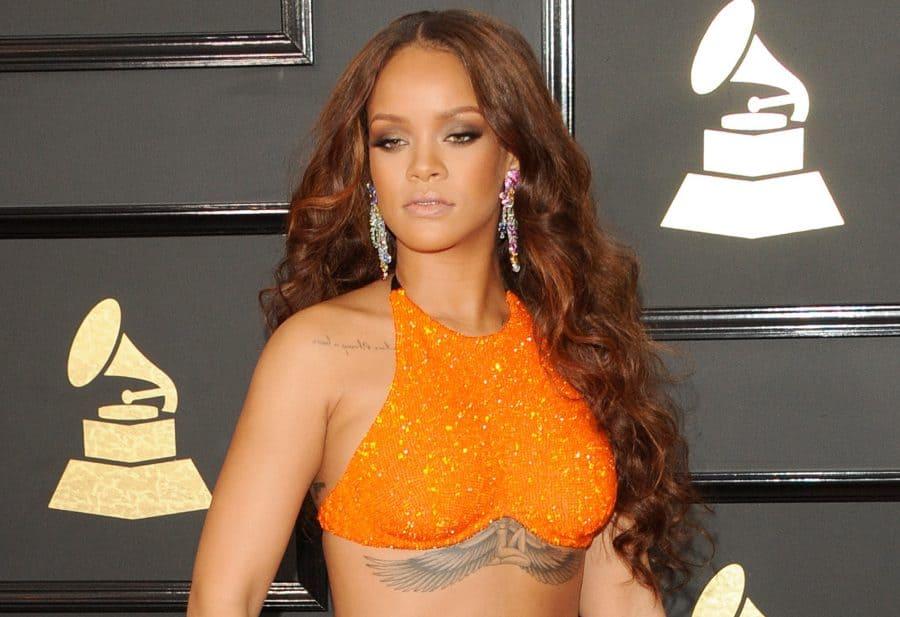 Rihanna Grammys Promo Shot