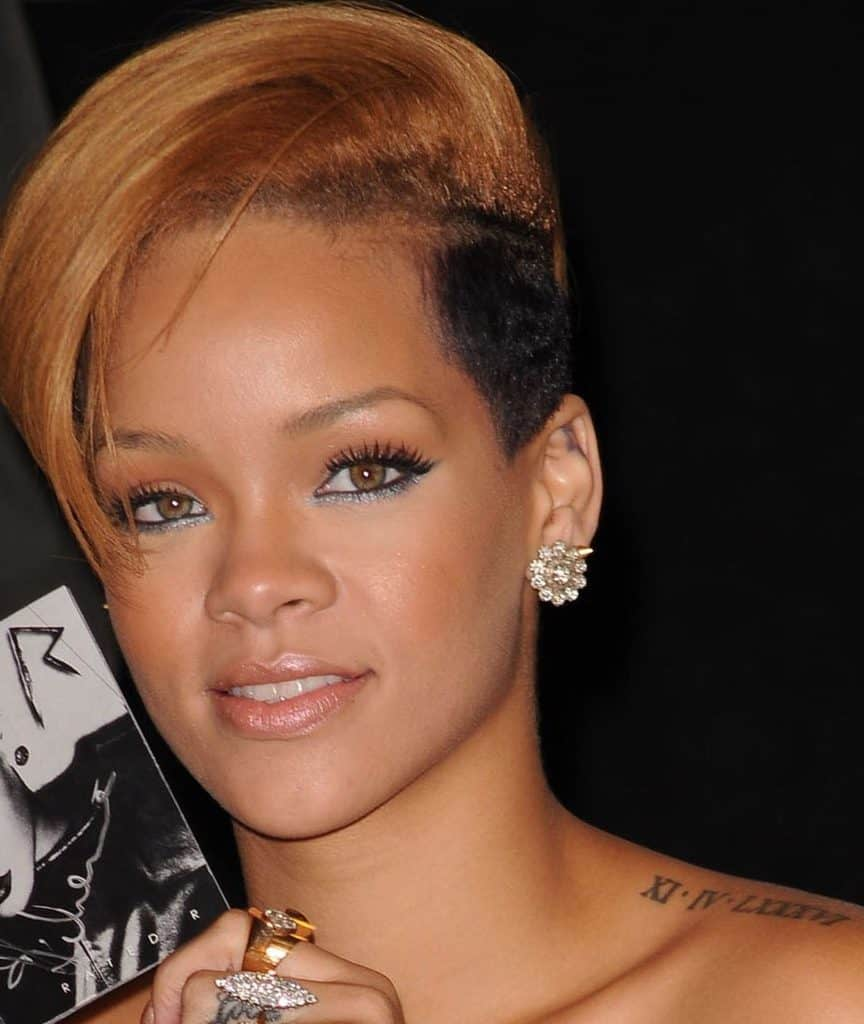 Rihanna's Tattoos and What They Mean - [2020 Celebrity Ink ...