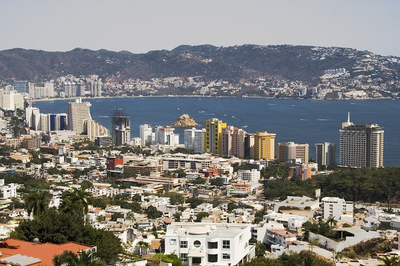 New,Part,Of,Acapulco,Showing,Structures,And,Bay