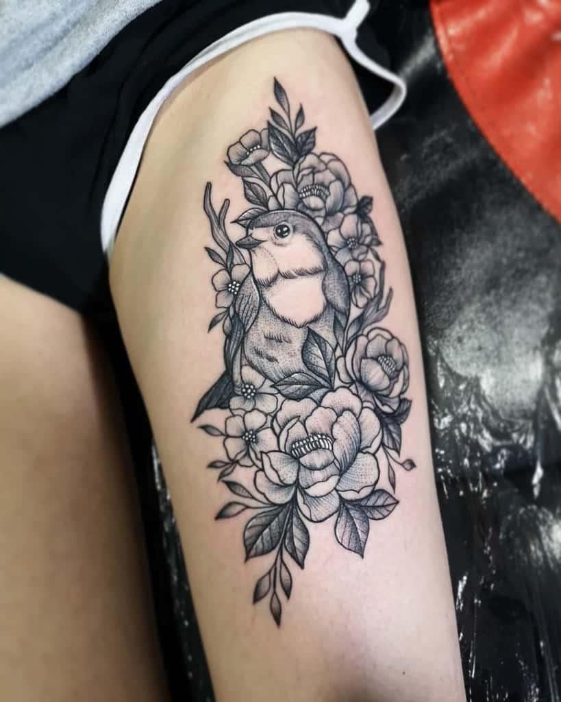 Robin Black Tattoo Arianshortttattoo