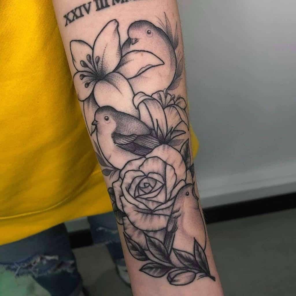 Robin Black Tattoo Charleedarwintattoo