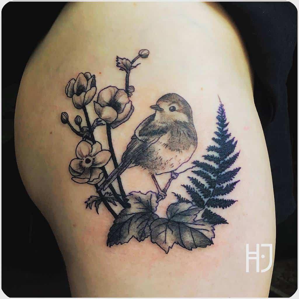 Robin Black Tattoo Heidi Jansen Tattoos