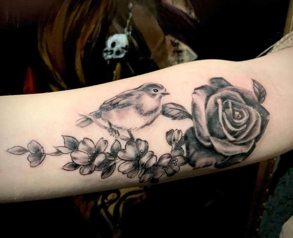 Robin Black Tattoo Michelleravenskin