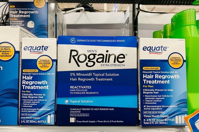 Rogaine (Minoxidil)