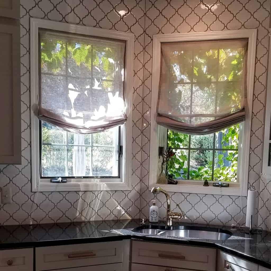 Roman Shade Curtain Ideas karenreadesigns