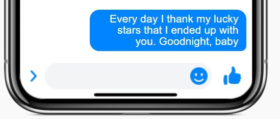 Romantic Goodnight Text For Her 2