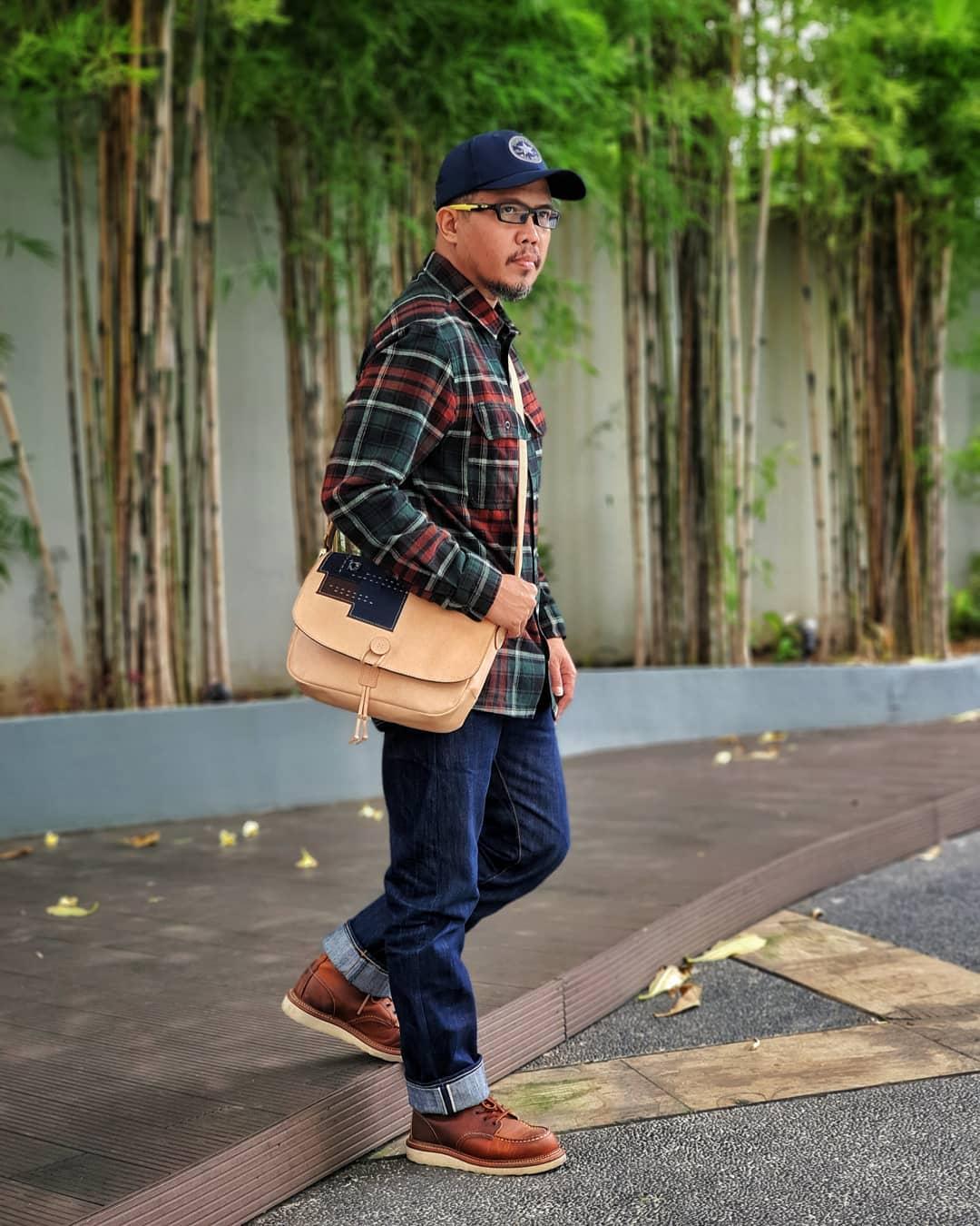 Plaid Rugged Style Ideas for Men -hedihadian