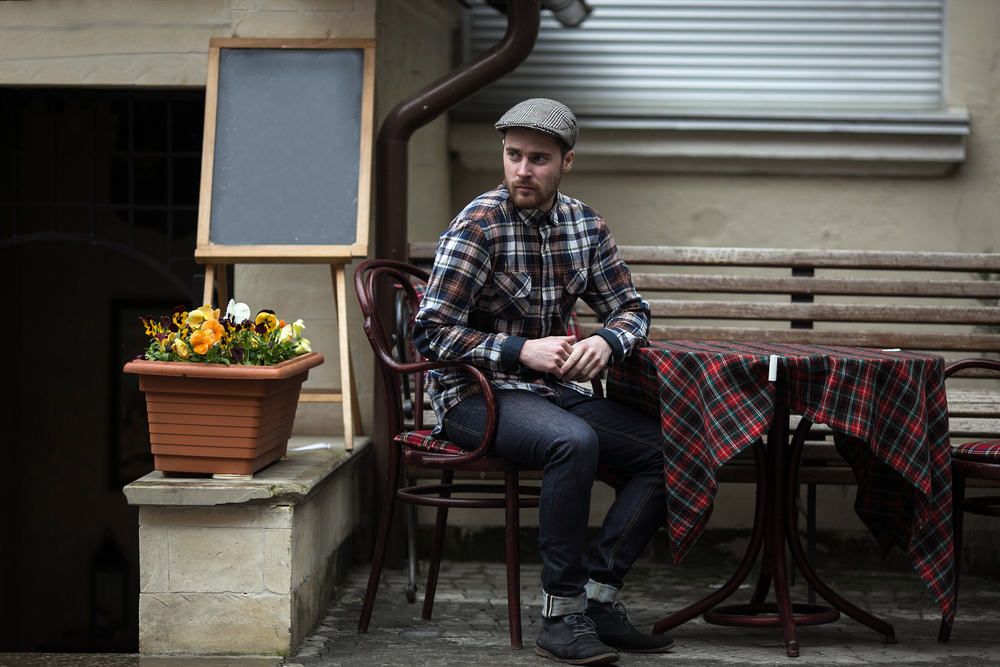 Plaid Rugged Style Ideas for Men