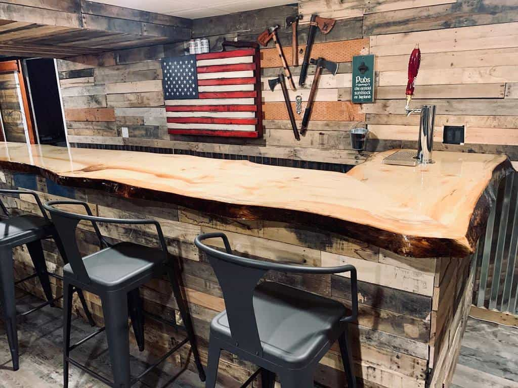 Rustic Basement Bar Ideas monaleah88