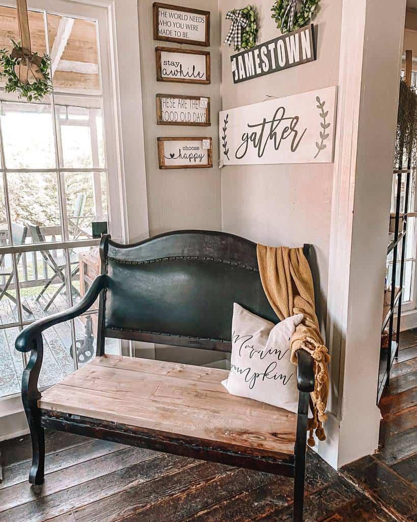 Rustic Sunroom Furniture Ideas 2 blackdogwoodcreations