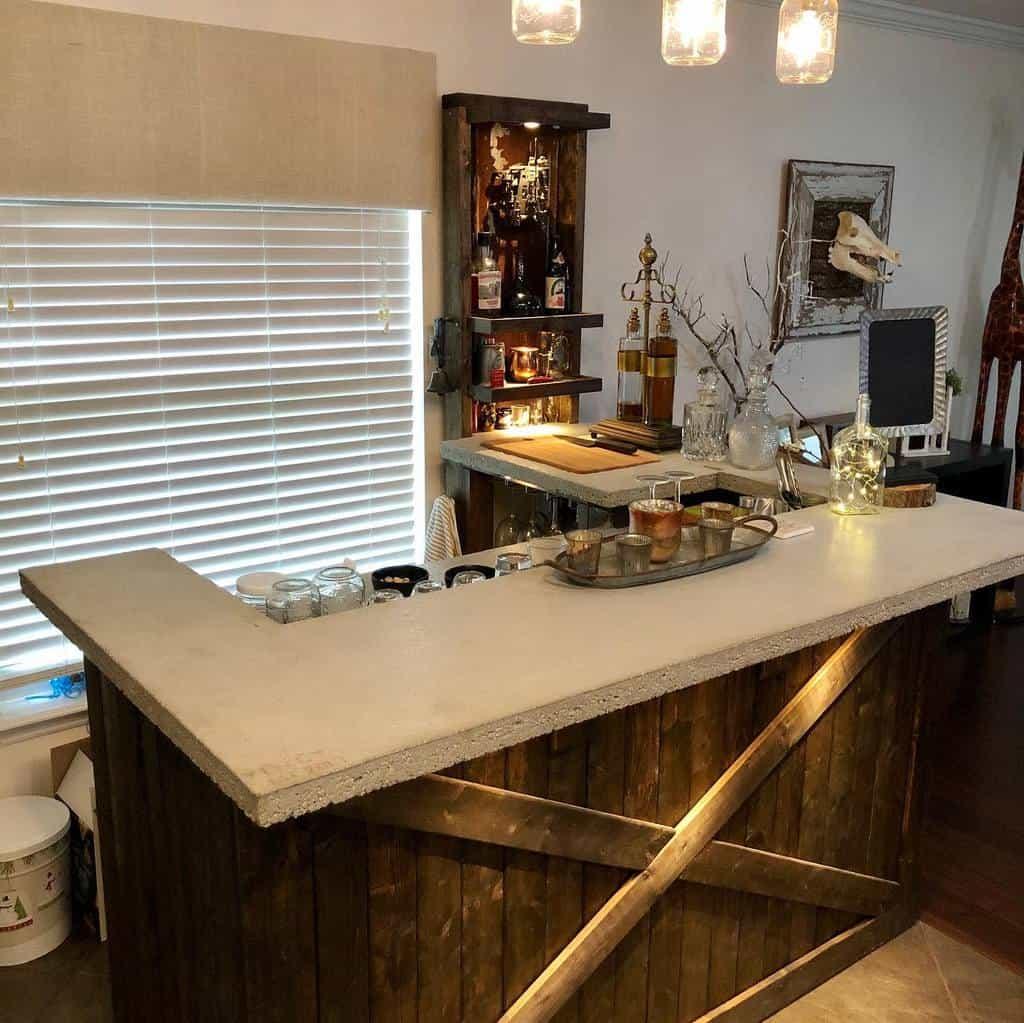 Rustic Wet Bar Ideas christian_craft_llc