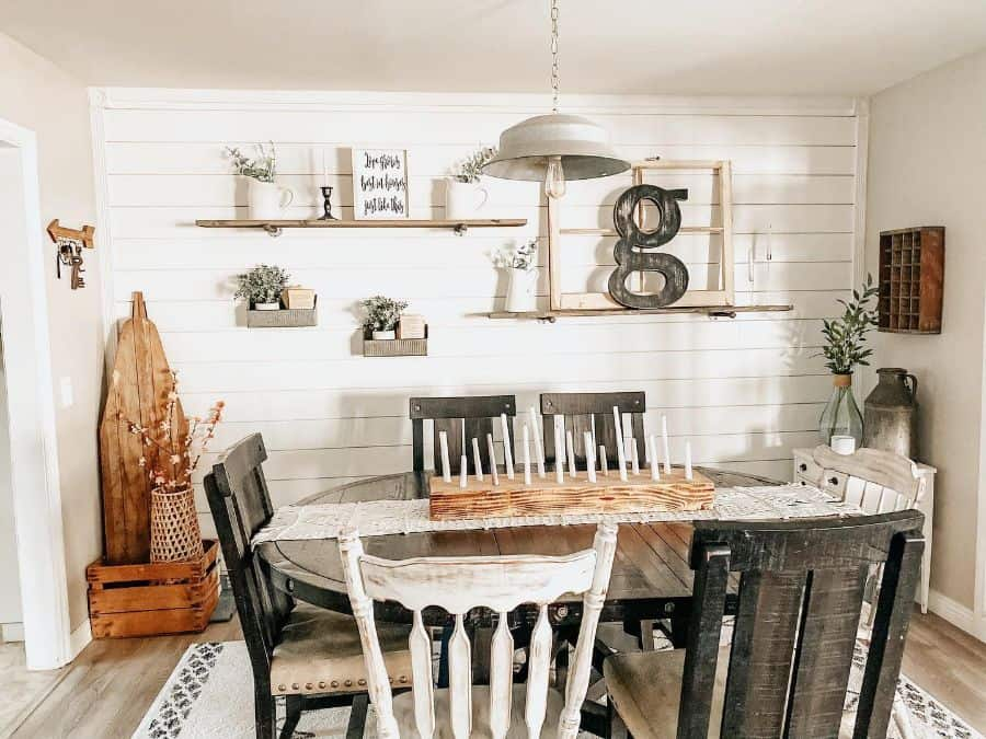 Rustic dining room lighting ideas alittle_bitof_alldecor