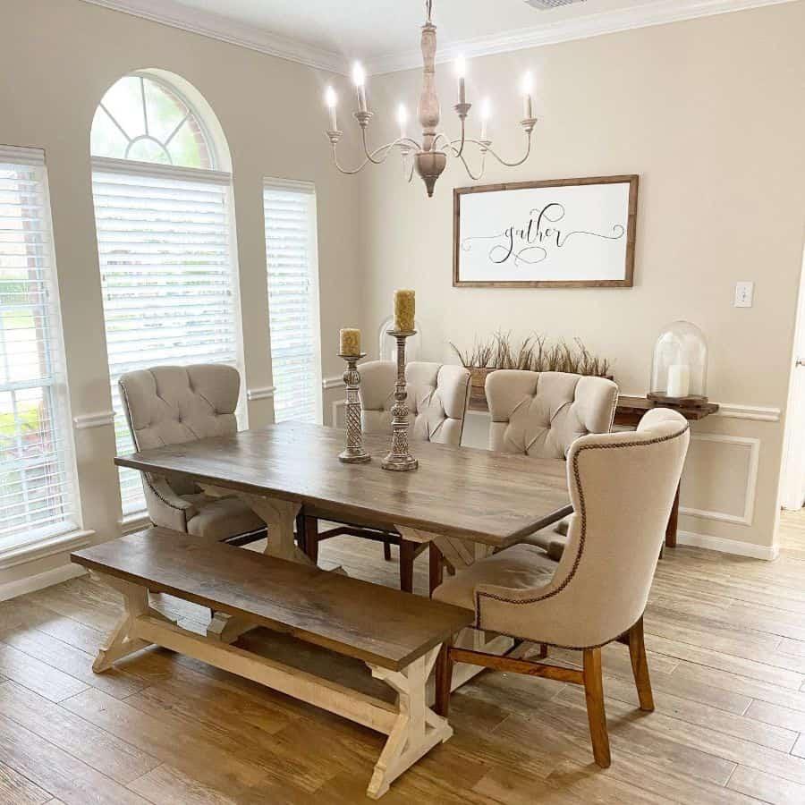 Rustic dining room lighting ideas southernfarmhousemama