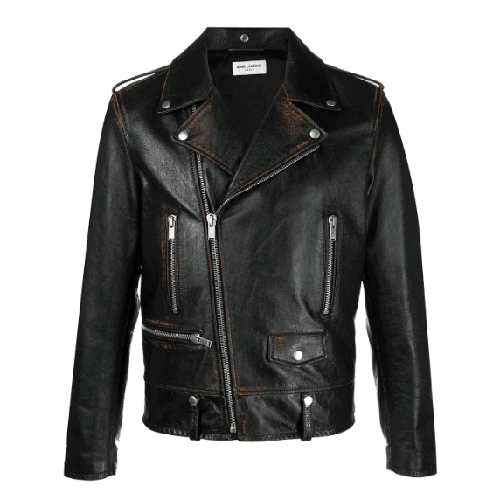 Saint-Laurent-Leather-Biker-Jacket