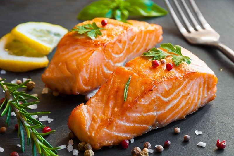 Salmon-To-Boost-Serotonin-for-Improving-Mental-Health-and-Mood